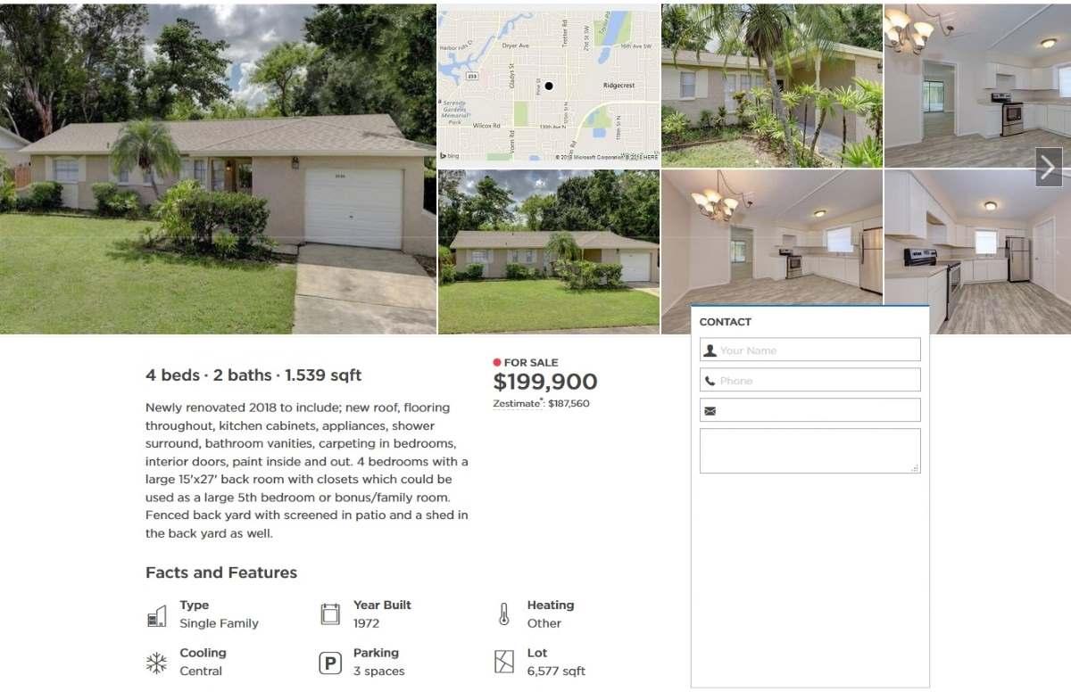 Casa in affitto da 199.900 dollari